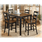 See Details - Pub Table with 4 Chairs