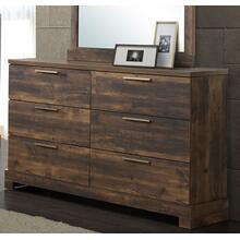 Campbell 6 Drawer Dresser