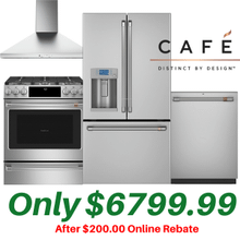 See Details - Cafe 4 Piece Kitchen Suite with matching range hood
