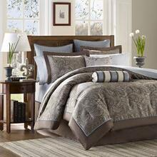 Aubrey 12 Piece Complete Bed Set - King