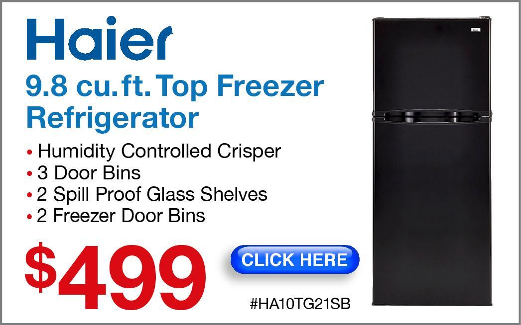Haier Refrigerator HA10TG21SB