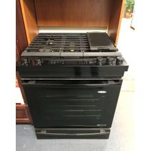 """See Details - 30"""" Slide In Gas Range with Baking Drawer - Part of Big Savings Display Model Suite Package"""