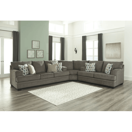 Dorsten - Slate - Sofa, Wedge & Loveseat Sectional