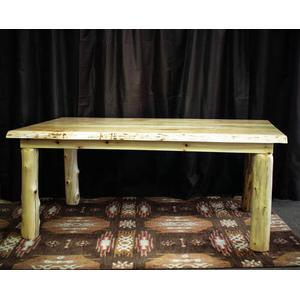 White Cedar And Ambrosia Maple Live Edge Dining Table