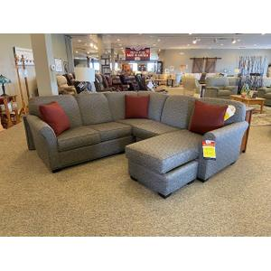Lancer - 3 Piece Sectional with moveable chaise