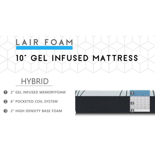 "10"" Hybrid Mattress"