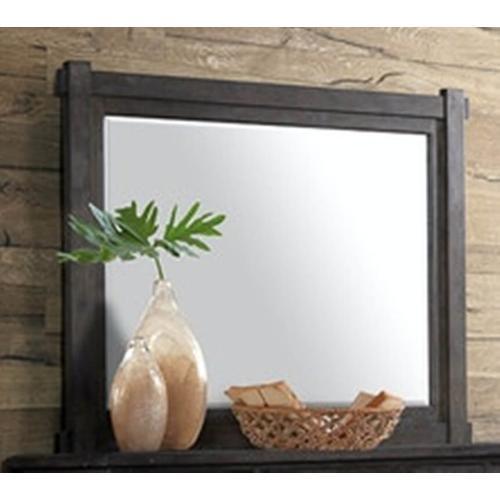 Scott Dark Bedroom Mirror