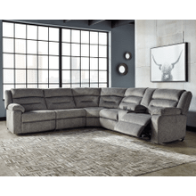 See Details - Malmaison - Ash - 3 Power Recliner Sectional with Right Facing Console