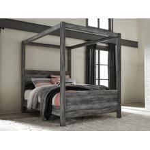 Baystorm- Gray- Queen Canopy Bed