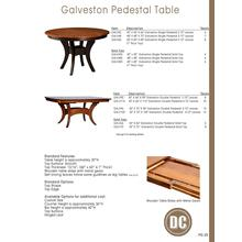 Galveston Table