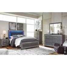 """View Product - 7 Piece Lodanna Bedroom includes a Free 50"""" Samsung QLED Smart TV"""