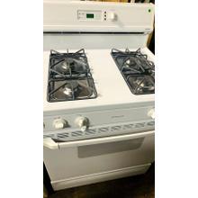 "USED- White Hotpoint® 30"" Free-Standing Gas Range G30WHSTV-U  #93"