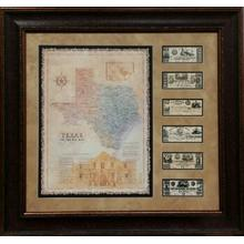 See Details - TEXAS MAP MONEY