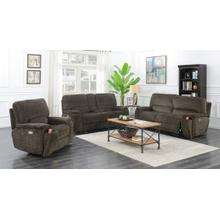 Uncle Dave's Power Two -Seat Recliner Sofa
