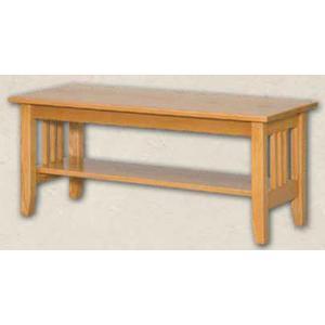 Oak Mission Coffee Table