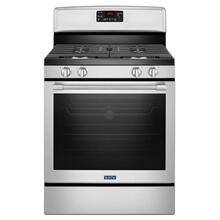 "Maytag 30"" Convection Fingerprint Resistant Gas Range"
