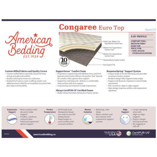 Corsicana - American Bedding -  Congareee - Firm Euro Top