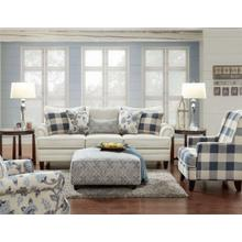 CL2810  Sofa, Loveseat, Chair & Ottoman - Catalina Linen - LOVESEAT & CHAIR IN STOCK