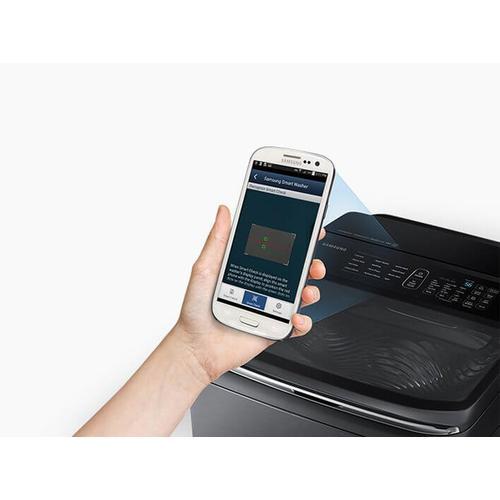 Product Image - Samsung DVE52M8650V Multi-Steam Dryer in Black Stainless Steel