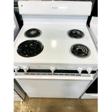 USED- Frigidaire 30'' Coil Electric Range- E30WHCOIL-U SERIAL #7