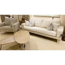 Capris Modern King Sofa & Chair Set