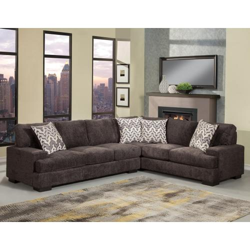 Comfort Industries - Vienna 2 Pc. Sectional Jet