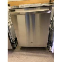 GE® Hybrid Stainless Steel Interior Dishwasher with Hidden Controls (This may be a Stock Photo, actual unit (s) appearance may contain cosmetic blemishes. Please call store if you would like additional pictures). This unit carries our 6 Month warranty, MANUFACTURER WARRANTY and REBATE NOT VALID with this item. ISI 37041