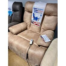 Power Lift Recliner with Extended Footrest