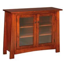 Craftsmen Console Glass Doors