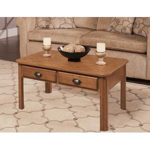 Null Furniture Inc - Rectangular Cocktail in Autumn Oak Finish       (1014-01,53034)