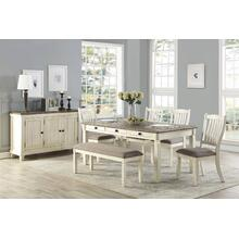 Willow Bend Collection with Chairs and Bench- Dining Height