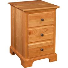 Sonora Collection- 3 Drawer Nightstand