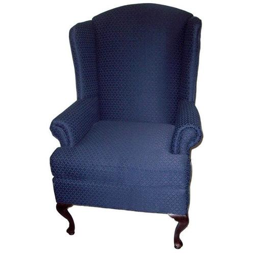 Wing Back Chair - Navy