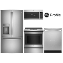 """View Product - GE Profile & GE Slide-In Range 36"""" French Counter-Depth"""