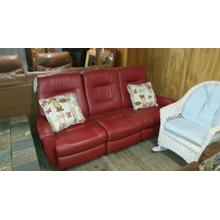Leather Reclining Sofa by Best Home Furnishings