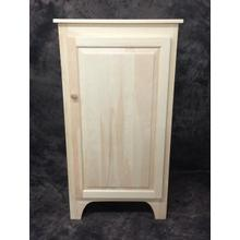 See Details - Maine Made 4 Foot Jelly Cabinet 26W X 48H X 14D Pine Unfinished