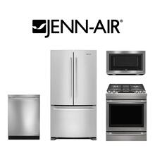 Jenn-Air 4 Piece Kitchen Package. Price Valid Thru 12/31/20