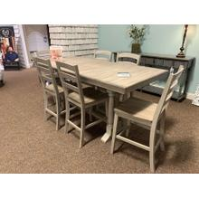 Rectangle Dining Table with 6 Chairs