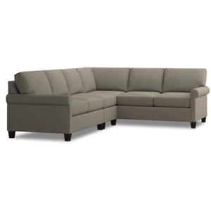 Spencer Left Sectional - Dove Fabric