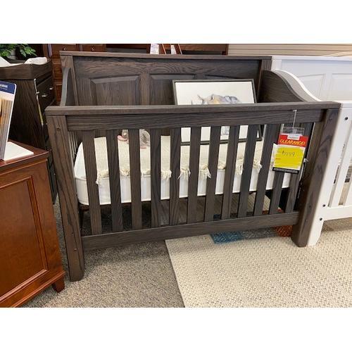 Amish Craftsman - Jackson Raised Panel Crib