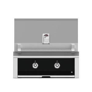 "Aspire By Hestan 30"" Built-In U-Burner and Sear Grill NG Stealth Black"