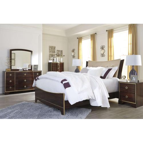 Ashley Furniture - Ashley Furniture B247 Lenmara - Reddish Brown Bedroom set Houston Texas USA.