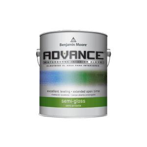 Benjamin Moore Paints - ADVANCE Waterborne Interior Alkyd Paint - Semi-Gloss Finish