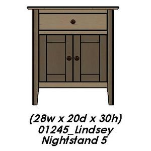 Palettes By Winesburg - Lindsey Nightstand