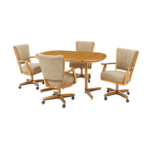 Gallery - A Douglas Extension Table with 4 Chairs