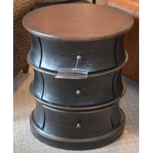 Oval Drum Table