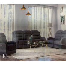 Emerald Home U721041/42/43/03 Harvey . 3-Pc. Power Reclining Set with Power Headrest . 78/57/33W x 37D x 41H . Mottled Grey