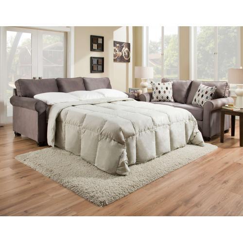 UNITED 1530Q JoJo Smoke Queen Sleeper Sofa