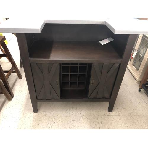 Eci Furniture - $849.95 SPECIAL BUY! BAR SET. BAR AND TWO BARSTOOLS. LIMITED STOCK!