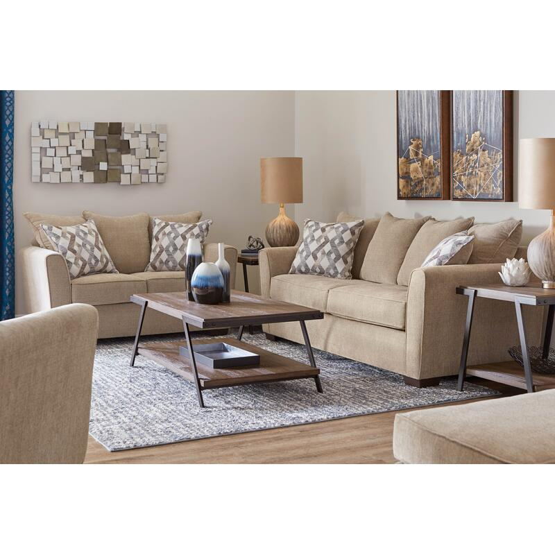 View Product - Coleman Sofa & Loveseat in Surge Mocha